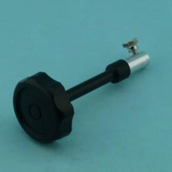 Control stalk, 6mm, short.
